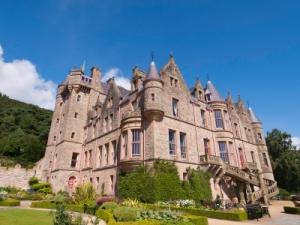 Belfast castle against blue sky