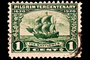 The Mayflower Postal Issue